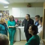 Το Πανεπιστημιακό Νοσοκομείο επισκέφθηκε ο Γ. Λαμπρούλης