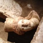 Αμφίπολη: Το «πείραμα» με το κεφάλι της Σφίγγας