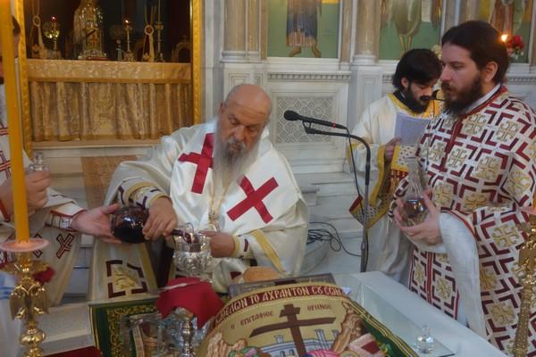 Πρωτοχριστιανική Θεία Λειτουργία στη Λάρισα