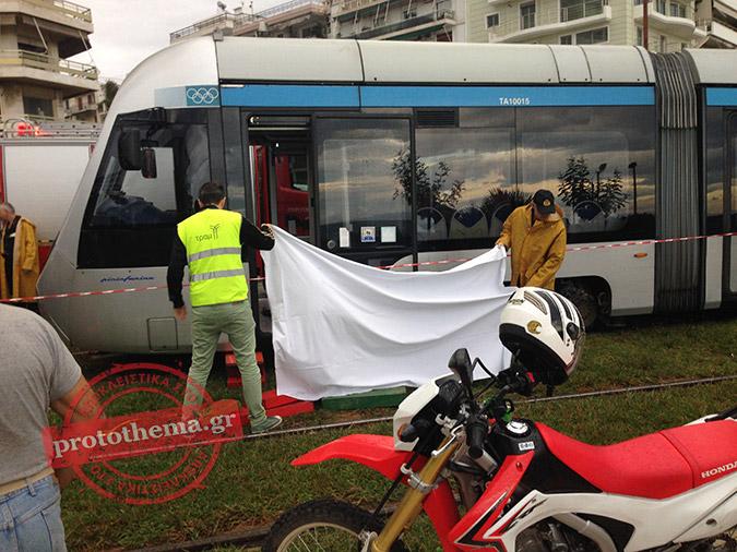Τραμ παρέσυρε και σκότωσε ηλικιωμένη στην Αθήνα (ΦΩΤΟ)