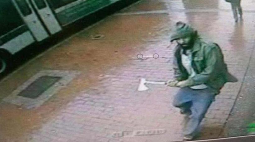 ΗΠΑ: Τζιχαντιστής επιτέθηκε με τσεκούρι σε αστυνομικούς! (ΦΩΤΟ + ΒΙΝΤΕΟ)