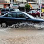 «Χάος» στη Λάρισα λόγω… βροχής!