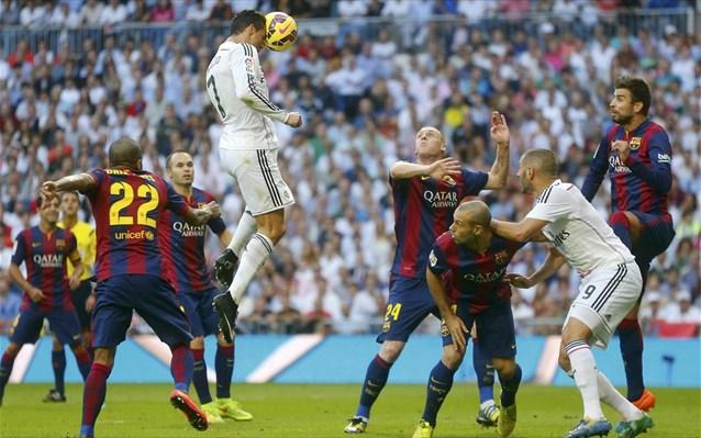 Η Ρεάλ Μαδρίτης πήρε το clasico με 3-1 επί της Μπαρτσελόνα