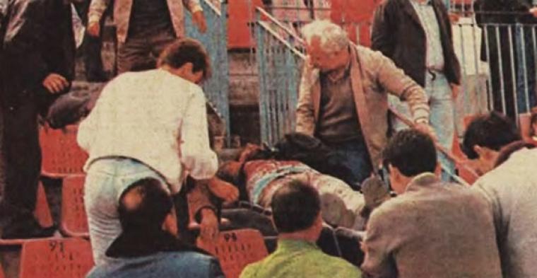 Χαράλαμπος Μπλιώνας: Το πρώτο θύμα των γηπέδων