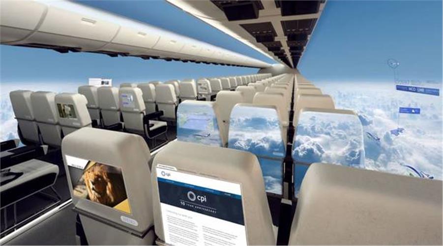 Αεροπλάνο χωρίς… παράθυρα!