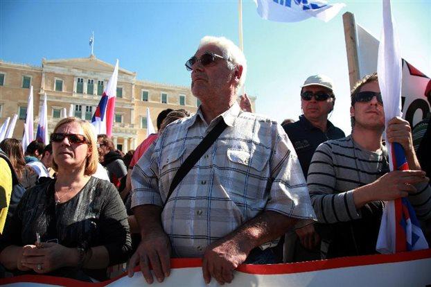 Η Λαϊκή Επιτροπή Αγ.Γεωργίου στην Αθήνα