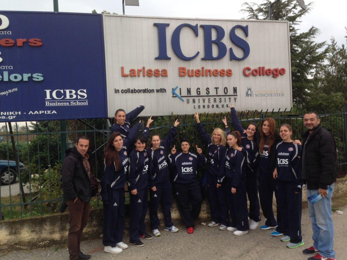 Η Ολύμπια στο ICBS College