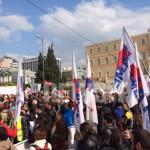 Το μεγαλειώδες συλλαλητήριο του ΠΑΜΕ και οι άσπονδοι εχθροί του*