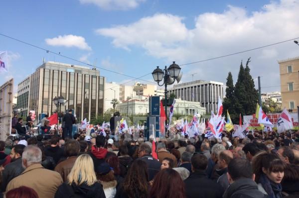συλλαλητηριο ΠΑΜΕ Αθηνα 3