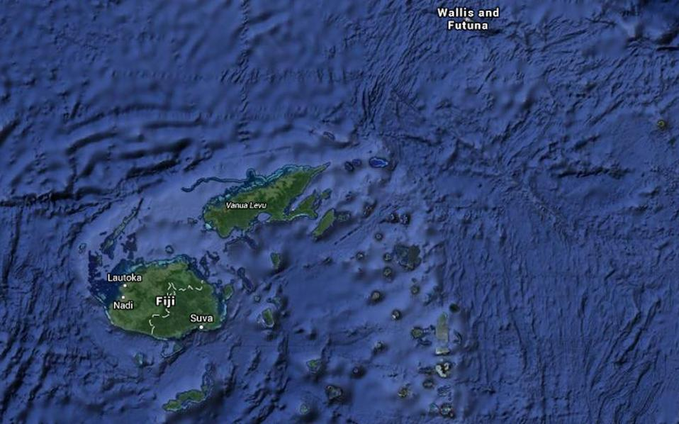 Σεισμός 7,1 Ρίχτερ βορειοανατολικά των νησιών Φίτζι