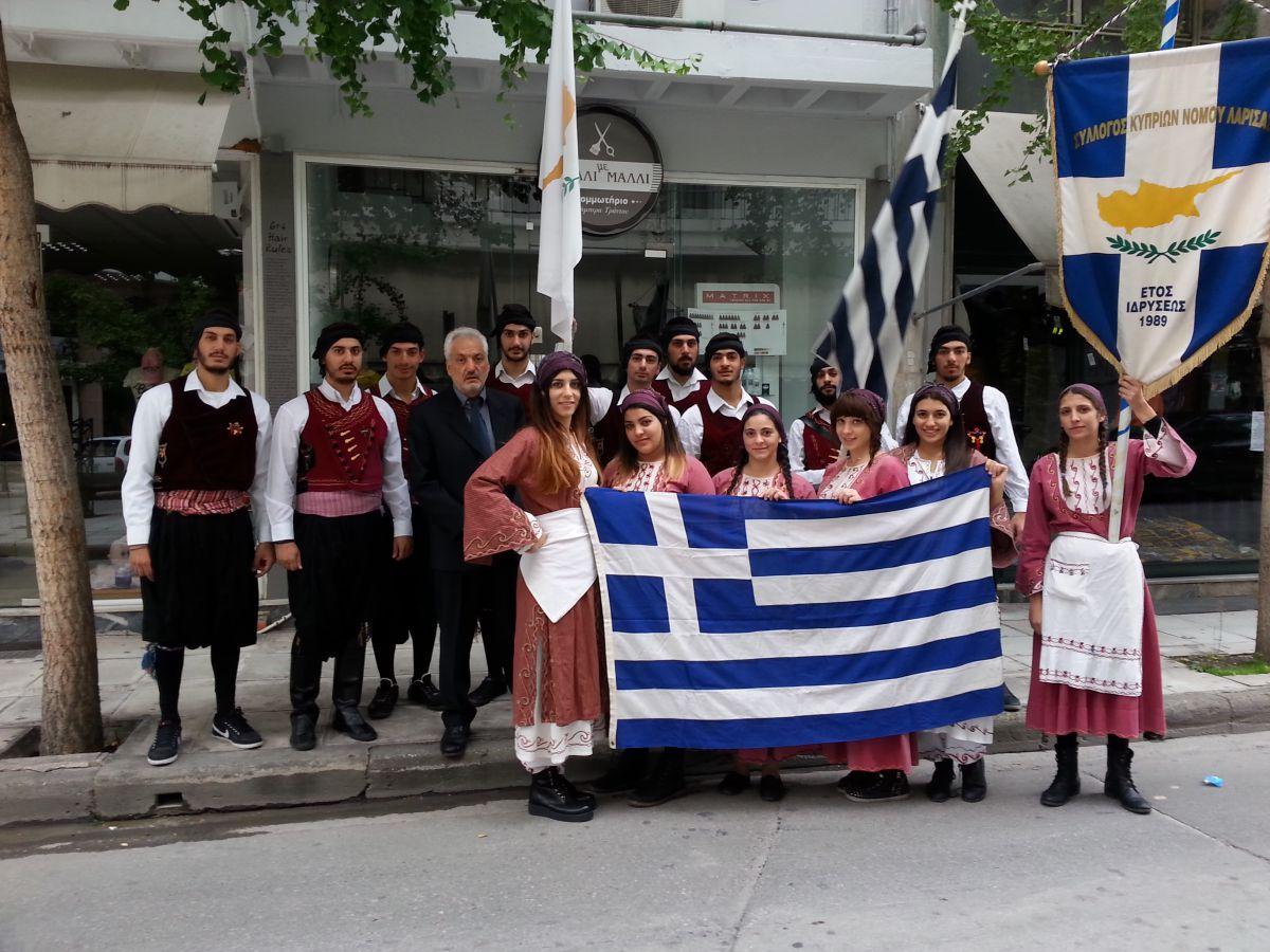 Κυπριακό «παρών» στην Εθνική επέτειο
