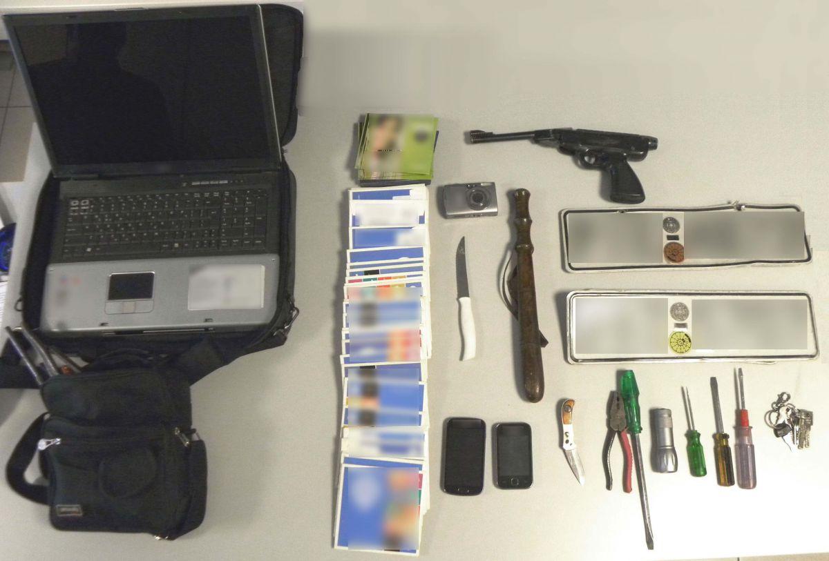 Στη φάκα 36χρονος για κλοπές, ναρκωτικά και όπλα