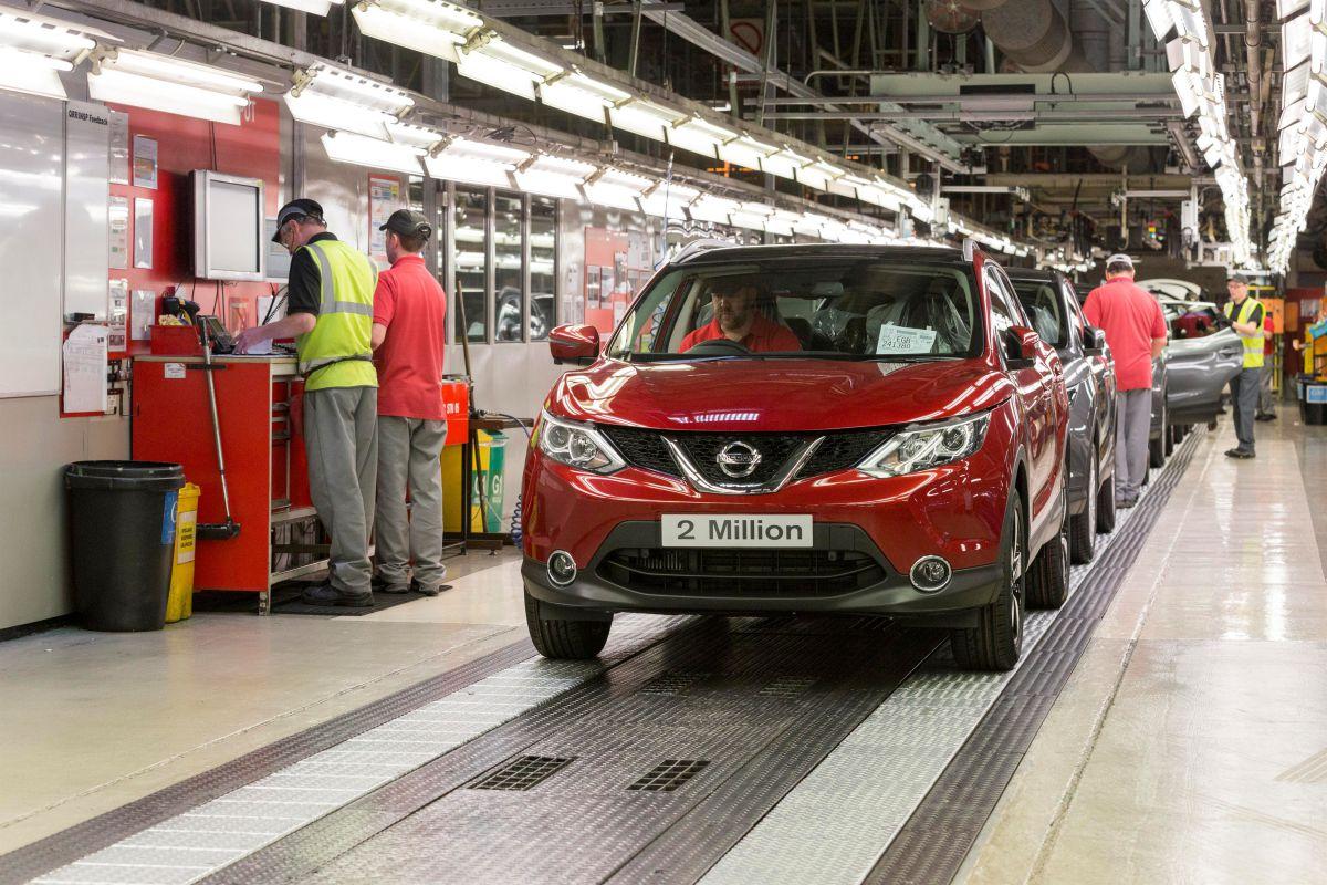 Ρεκόρ παραγωγής για το Nissan QASHQAI