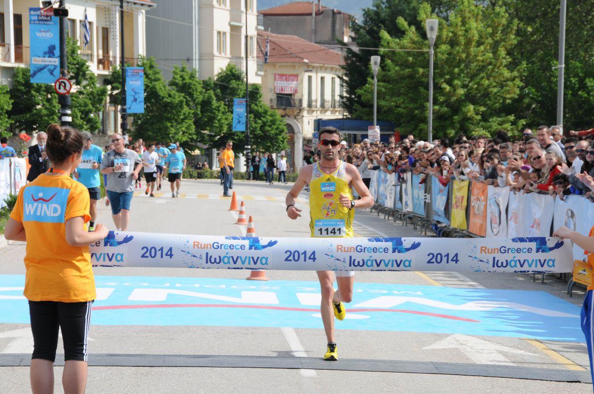 Κορυφαίοι αθλητές με τα χρώματα της WIND Running Team