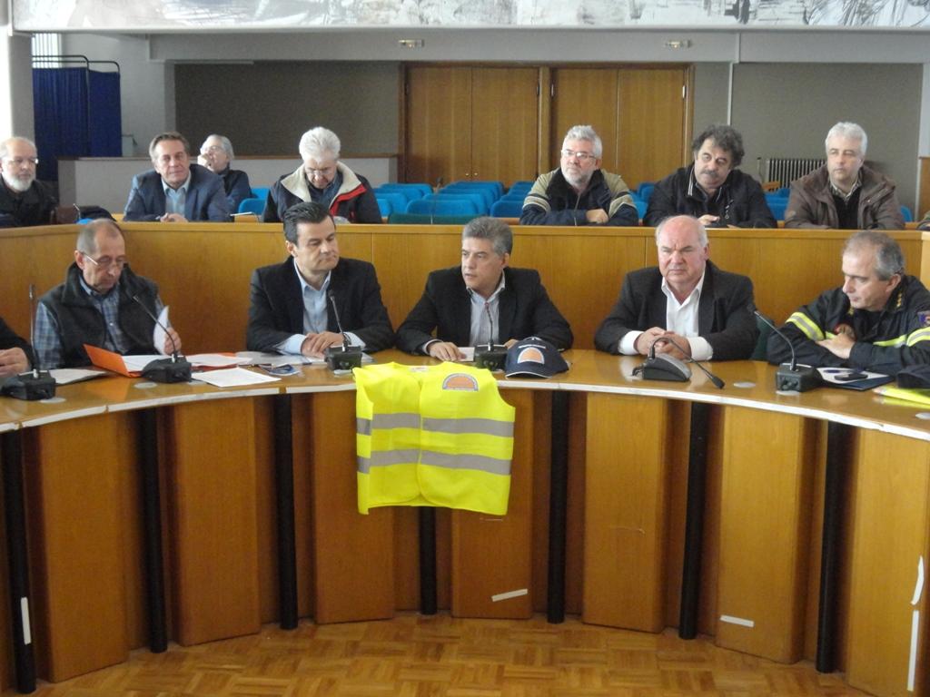 Σύσκεψη Πολιτικής Προστασίας ενόψει… δύσκολου χειμώνα