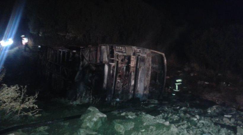 Νεκρός ο οδηγός του λεωφορείου