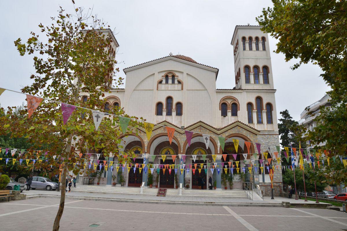 Λατρευτικές εκδηλώσεις για τον Άγιο Νικόλαο στη Λάρισα