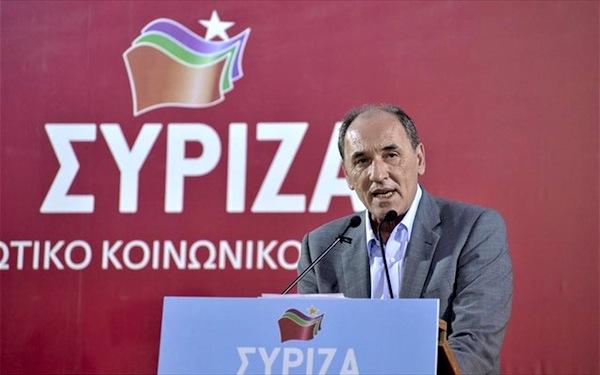 Στη Λάρισα ο βουλευτής ΣΥΡΙΖΑ Γ. Σταθάκης