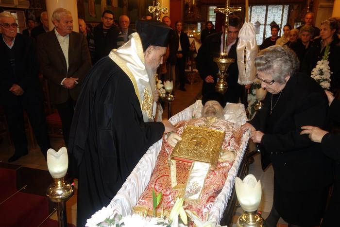 Εκοιμήθη ο Πρωτοπρεσβύτερος π. Κωνσταντίνος Εμμανουήλ
