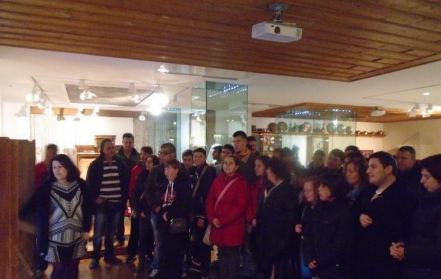 Μαθητές στο Λαογραφικό Μουσείο