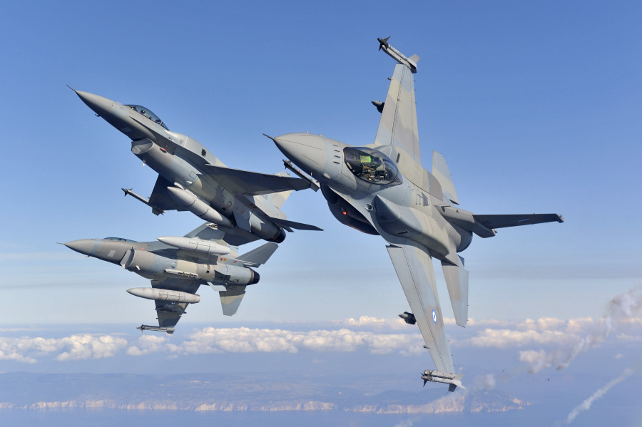 F-16 της Πολεμικής Αεροπορίας συνετρίβη νότια της Γαύδου
