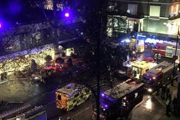 Τρόμος σε ξενοδοχείο του Λονδίνου