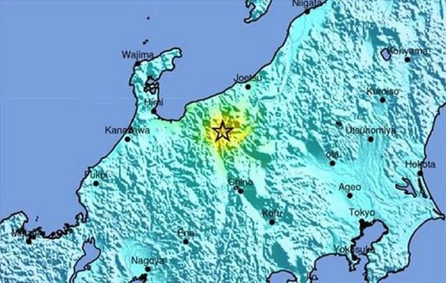 6,8 Ρίχτερ στην Ιαπωνία