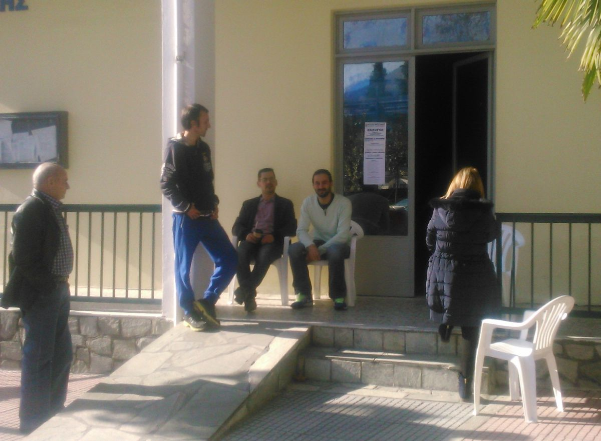 Αγροτοεκλογές στην Τσαριτσάνη