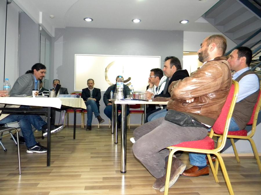 Συνάντηση με ξενοδόχους του Ν. Λάρισας