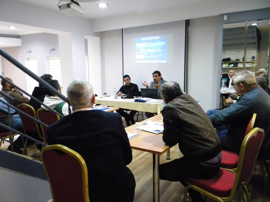 Συνάντηση με ξενοδόχους του Ν. Λάρισας 1