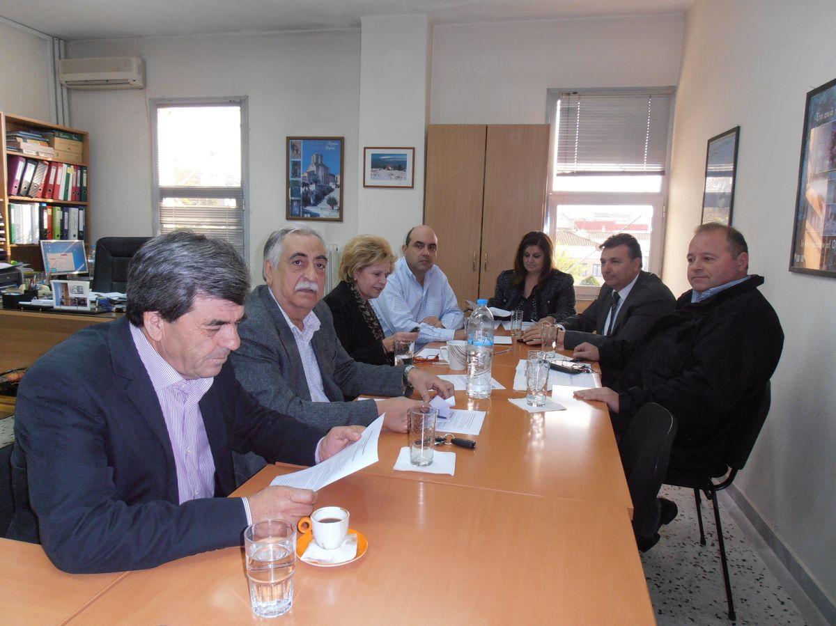 Με νέα σύνθεση συνεδρίασε η Επιτροπή Διαχείρισης του LEADER