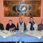 Πάνε… πλατεία οι Λαρισαίοι συνταξιούχοι για την απεργία