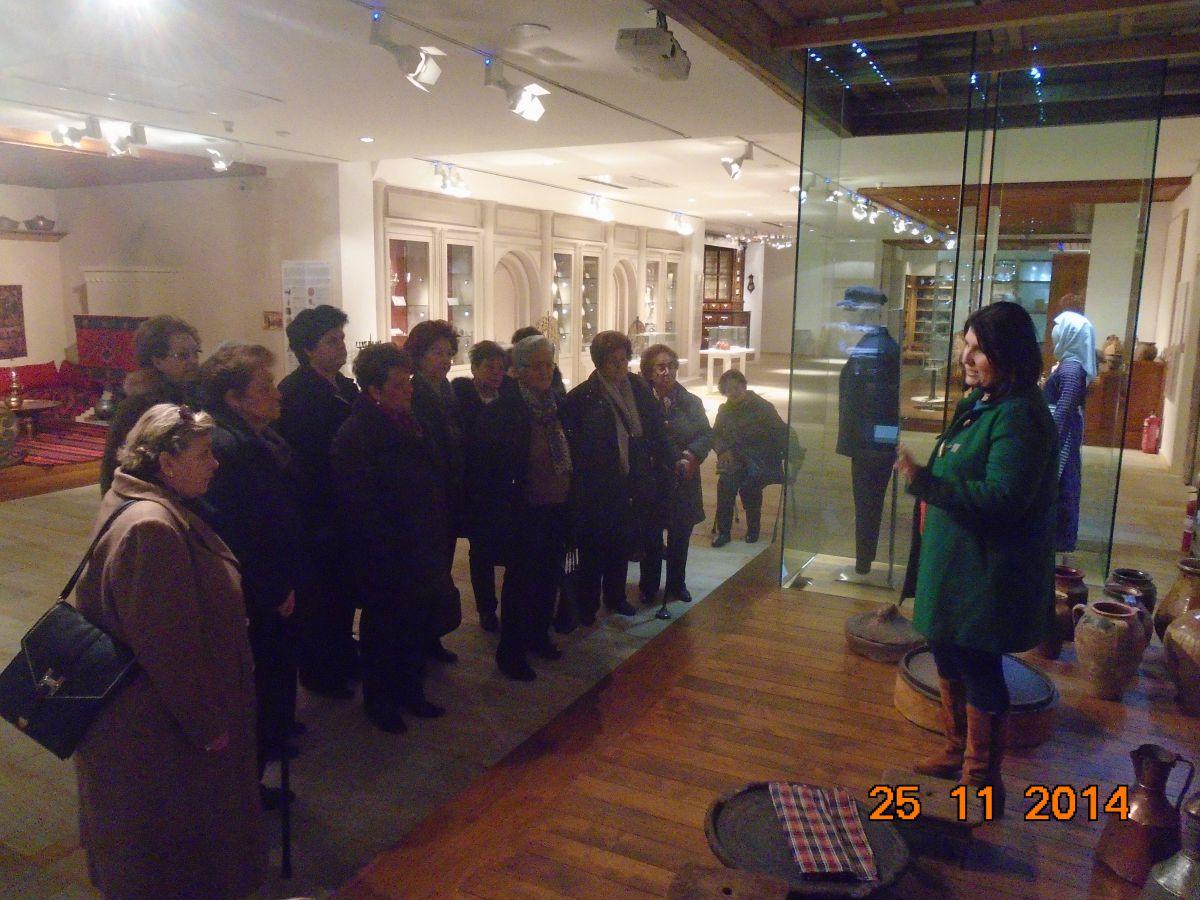Στο Λαογραφικό Μουσείο οι κυρίες της Ισραηλιτικής Κοινότητας