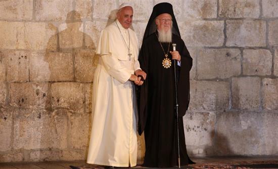 Ο Πάπας στο Φανάρι