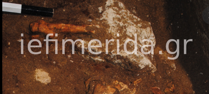 Ετσι βρέθηκε ο σκελετός του αρχαίου νεκρού στην Αμφίπολη (ΦΩΤΟ)
