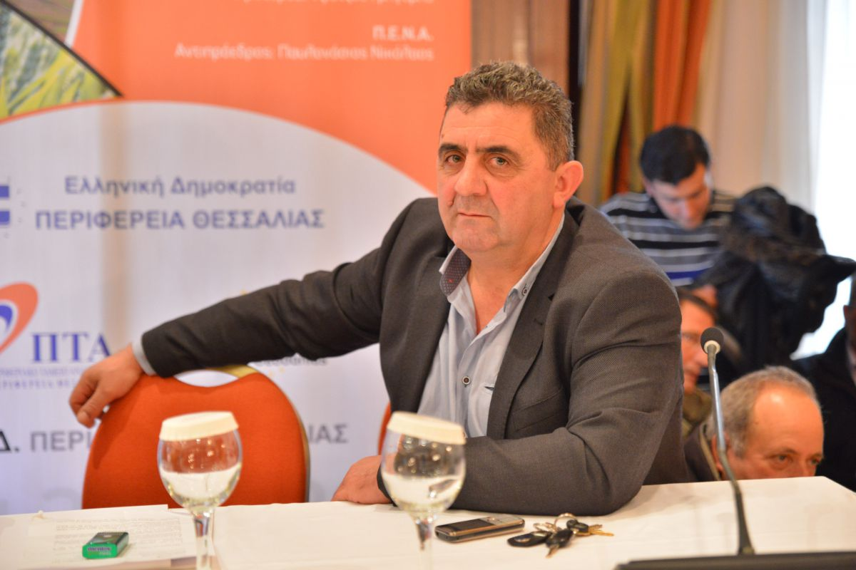 Παμψηφεί πρόεδρος των Θεσσαλών κτηνοτρόφων ο Ν. Παλάσκας