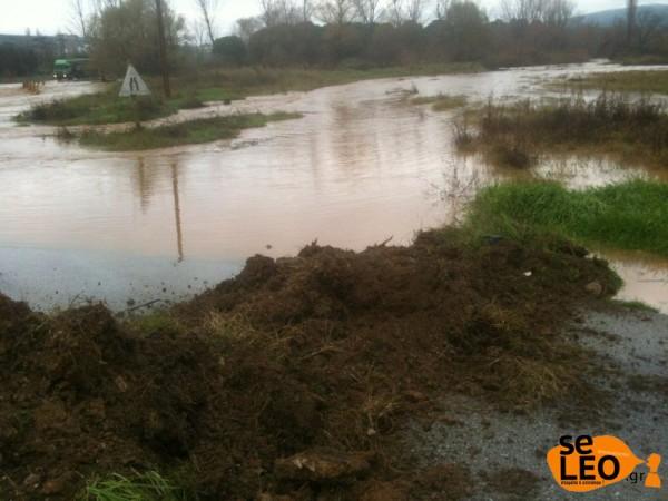 πλημμυρα Φιλαδελφεια Θεσσαλονικη