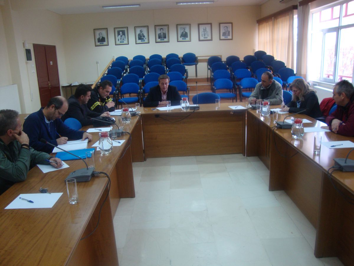 Συνεδρίασε το Συντονιστικό Πολιτικής Προστασίας του Δήμου Ελασσόνας