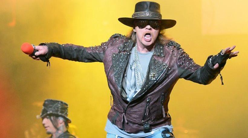 """Μακάβρια φάρσα: Πέθαναν τον τραγουδιστή των Guns N"""" Roses, Axl Rose!"""