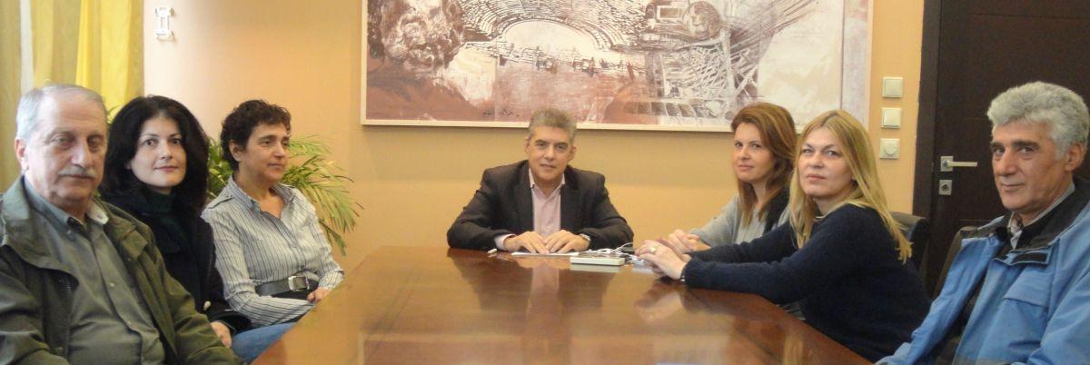 Ανησυχεί ο Κ. Αγοραστός για την εκτέλεση των έργων στην Κάρλα