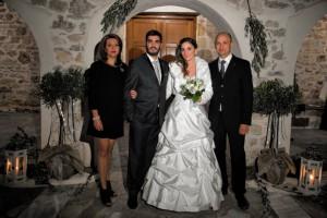 Παντρεύτηκαν Π. Κουτούδης-Β. Σπανού