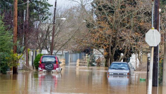 Ζημιές μετά από καταρρακτώδη βροχή σε αν. Μακεδονία και Ξάνθη