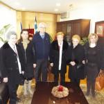 Εθιμοτυπικές επισκέψεις στον δήμαρχο Λαρισαίων