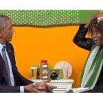Ο Ομπάμα, τα πράσινα κραγιόν και η … γκάφα