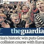 Παγκόσμιο θέμα η νίκη του ΣΥΡΙΖΑ