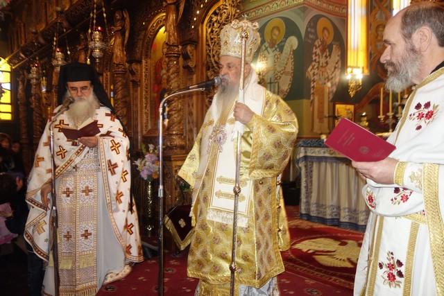 Ο Μητροπολίτης στον Άγιο Κων/νο για την εορτή της Υψώσεως του Τιμίου Σταυρού