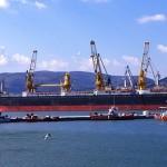 Ενεργό βλήμα όλμου στο λιμάνι του Βόλου