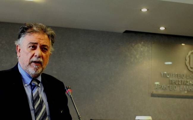Στη Λάρισα ο αν. υπουργός Προστασίας Πολίτη Γ. Πανούσης