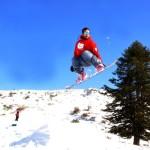 Με το snow board στον Κίσσαβο