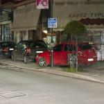 «Χάος» με την παράνομη στάθμευση στη Λάρισα (ΦΩΤΟ)